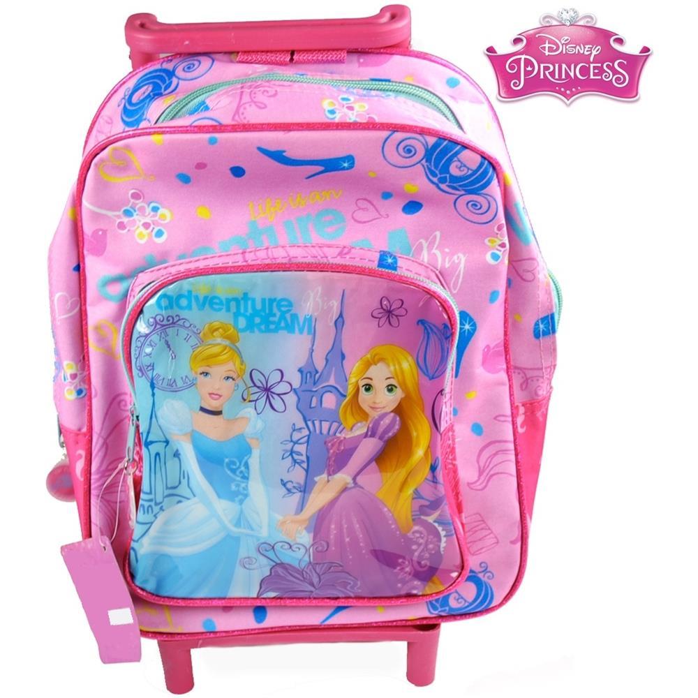 21fdae4a71 TrAdE shop Traesio® - Zaino Trolley Principesse Disney Princess Asilo  Scuola Bambine Viaggi Alto 30 Cm - ePRICE