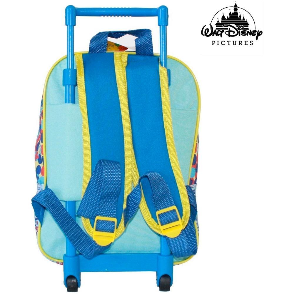 43cee165b3 TrAdE shop Traesio® Zaino Trolley Mickey Topolino Disney Asilo Scuola  Bambini Viaggi Altezza 30 Cm