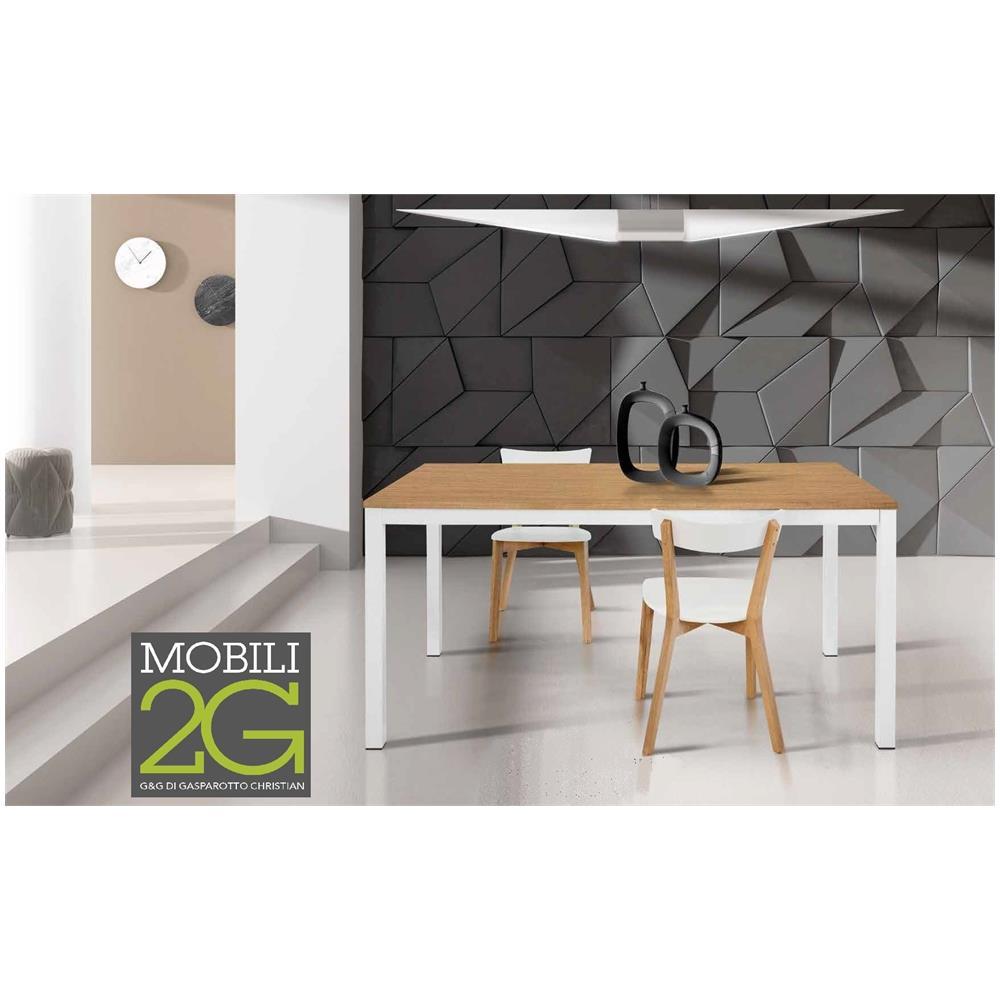 Mobili 2G - Tavolo Rovere Allungabile 120x80 - ePRICE