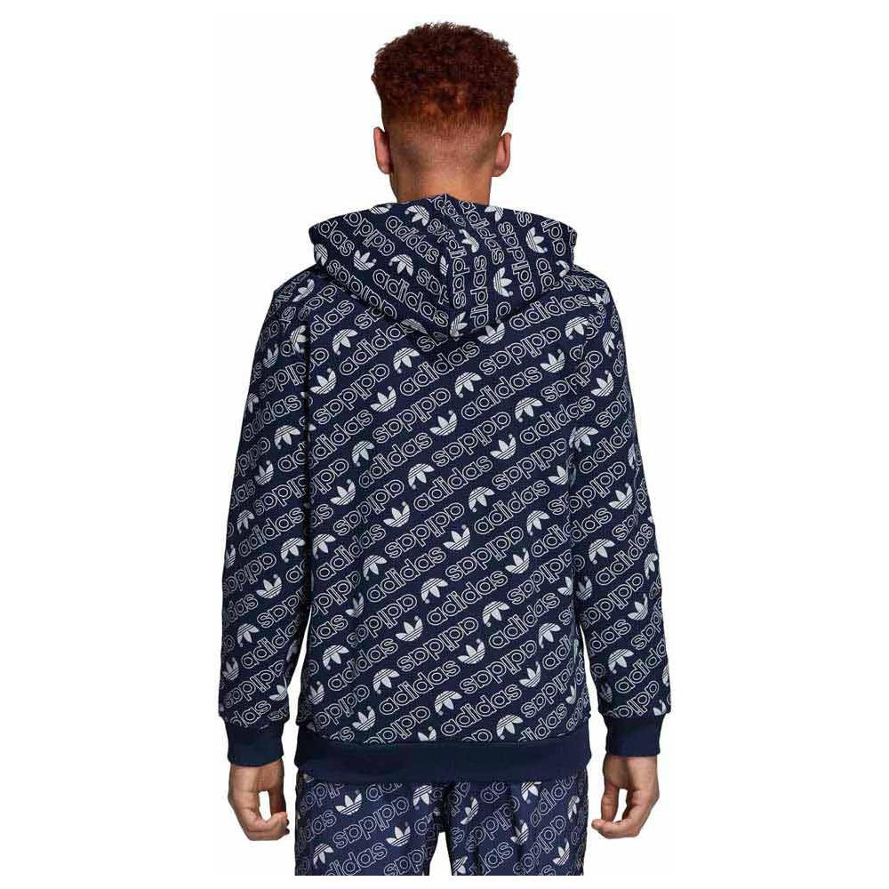 Adidas Felpe Monogram Zip Originals Full Uomo Adidas Abbigliamento rxPqfIrX