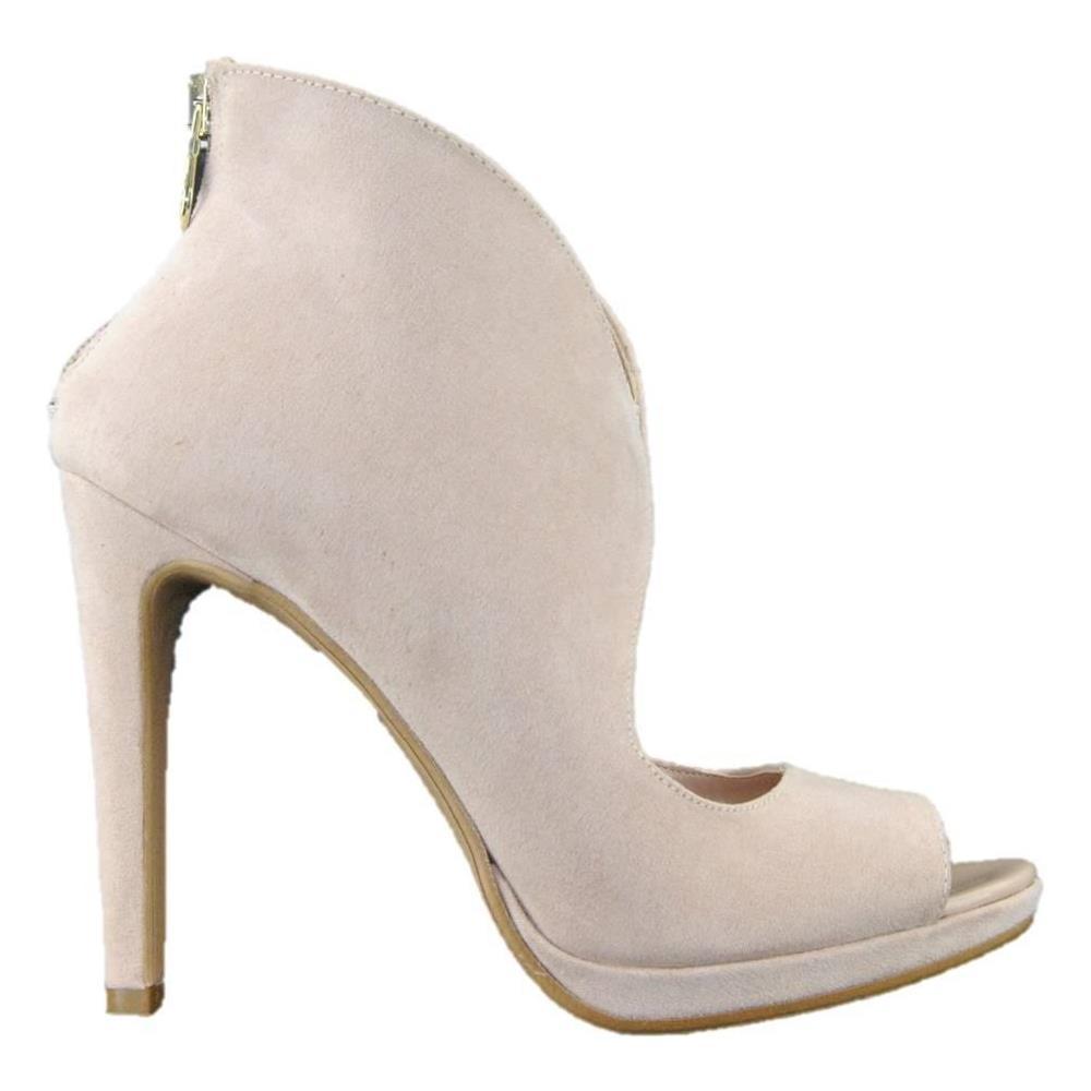 DONNA , Sandalo Scarpe Eleganti Open Toe Donna Rosa Cipria Made In Italy  Rosa 40 , ePRICE