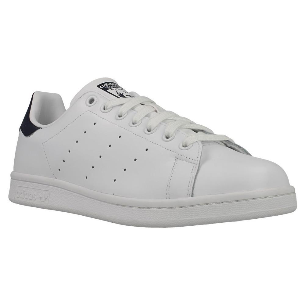 Adidas Stan Smith Scarpe Uomo Donna Pelle Bianco Blu M20325 46
