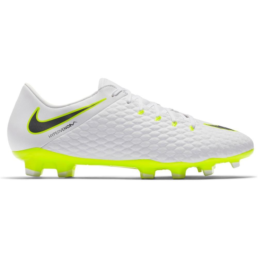 migliori scarpe da ginnastica economico per lo sconto sconto NIKE Scarpe Calcio Nike Hypervenom Phantom Iii Academy Fg Just Do It Pack  Taglia 38,5 - Colore: Bianco / grigio