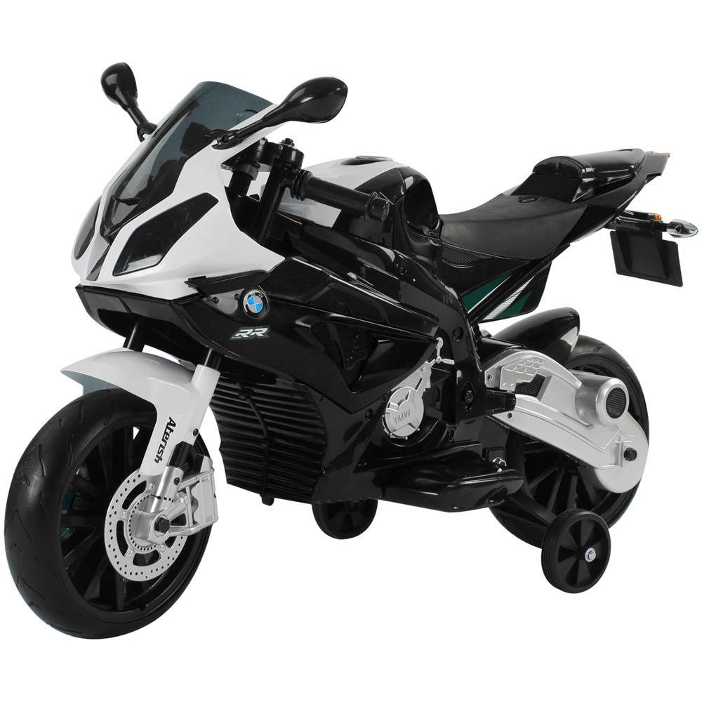 8a2a9187d7 HOMCOM - Moto Elettrica Bmw Rr Per Bambini 12v Colore Nero E Bianco - ePRICE
