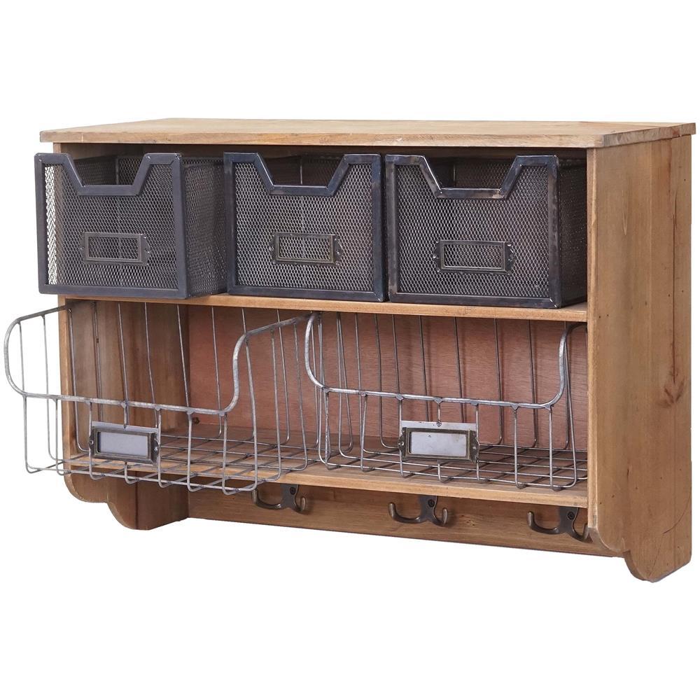Mendler - Serie Vintage Credenza Da Cucina Pensile Hwc-a43 Metallo ...