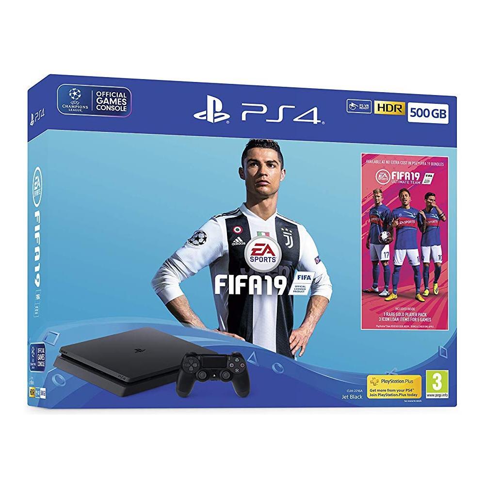 Console Playstation 4 500 GB Slim + FIFA 19