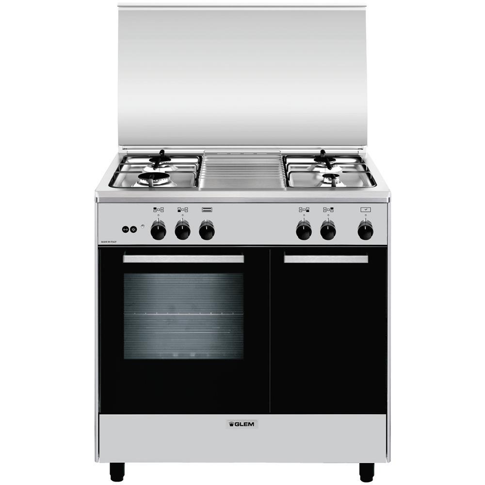Glem gas cucina gas ar854gi 4 fuochi gas forno gas - Eprice cucine a gas ...