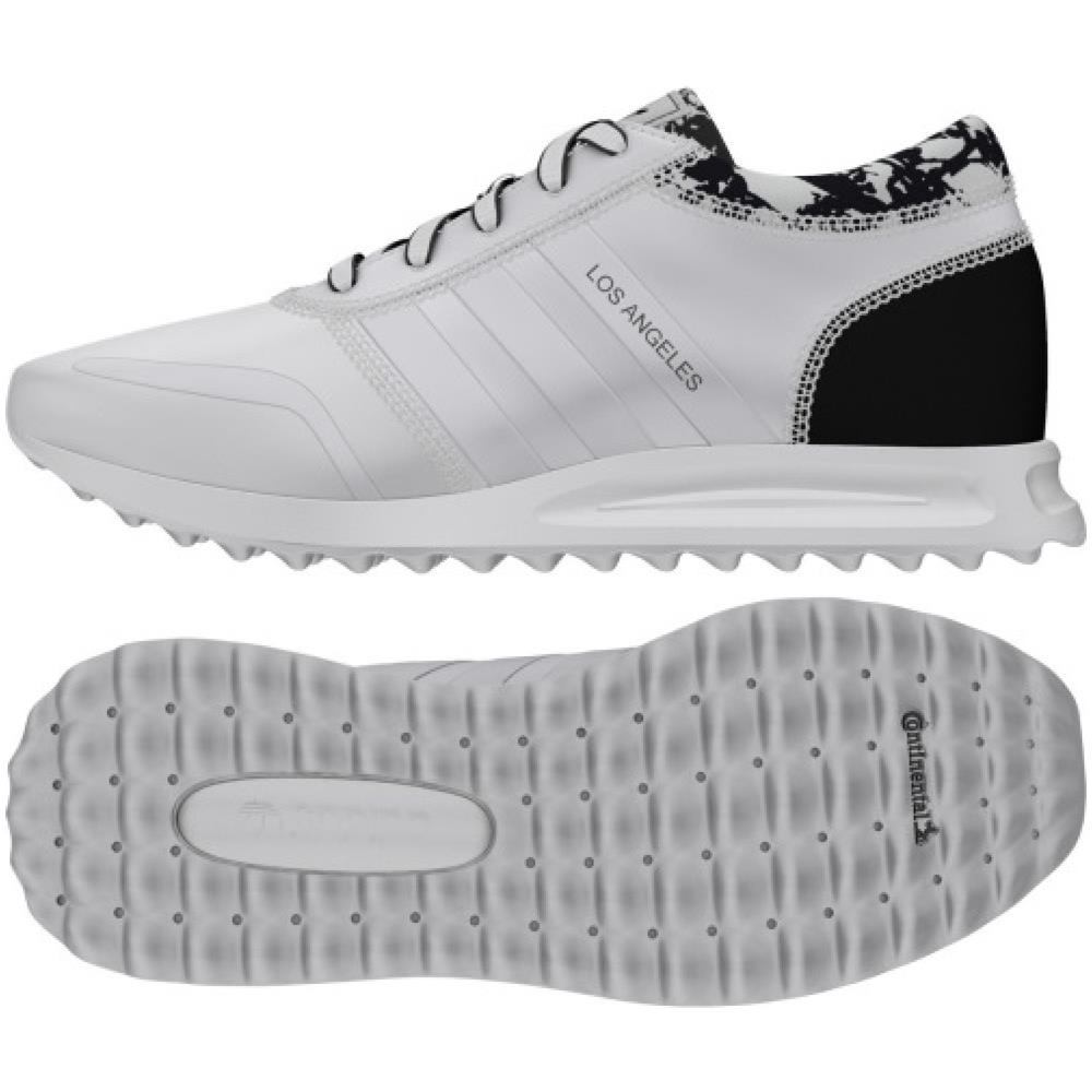 wholesale dealer 5d9c8 3ddf2 adidas Scarpe Donna Los Angeles 38 Bianco Nero. Zoom