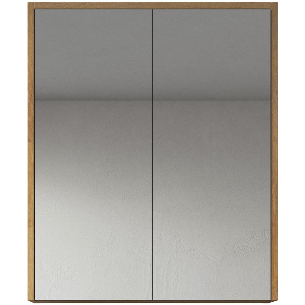 Specchio Bagno 60 X 60.Badplaats Armadietto A Specchio Cuba 60 X 72 Cm Rovere Specchio