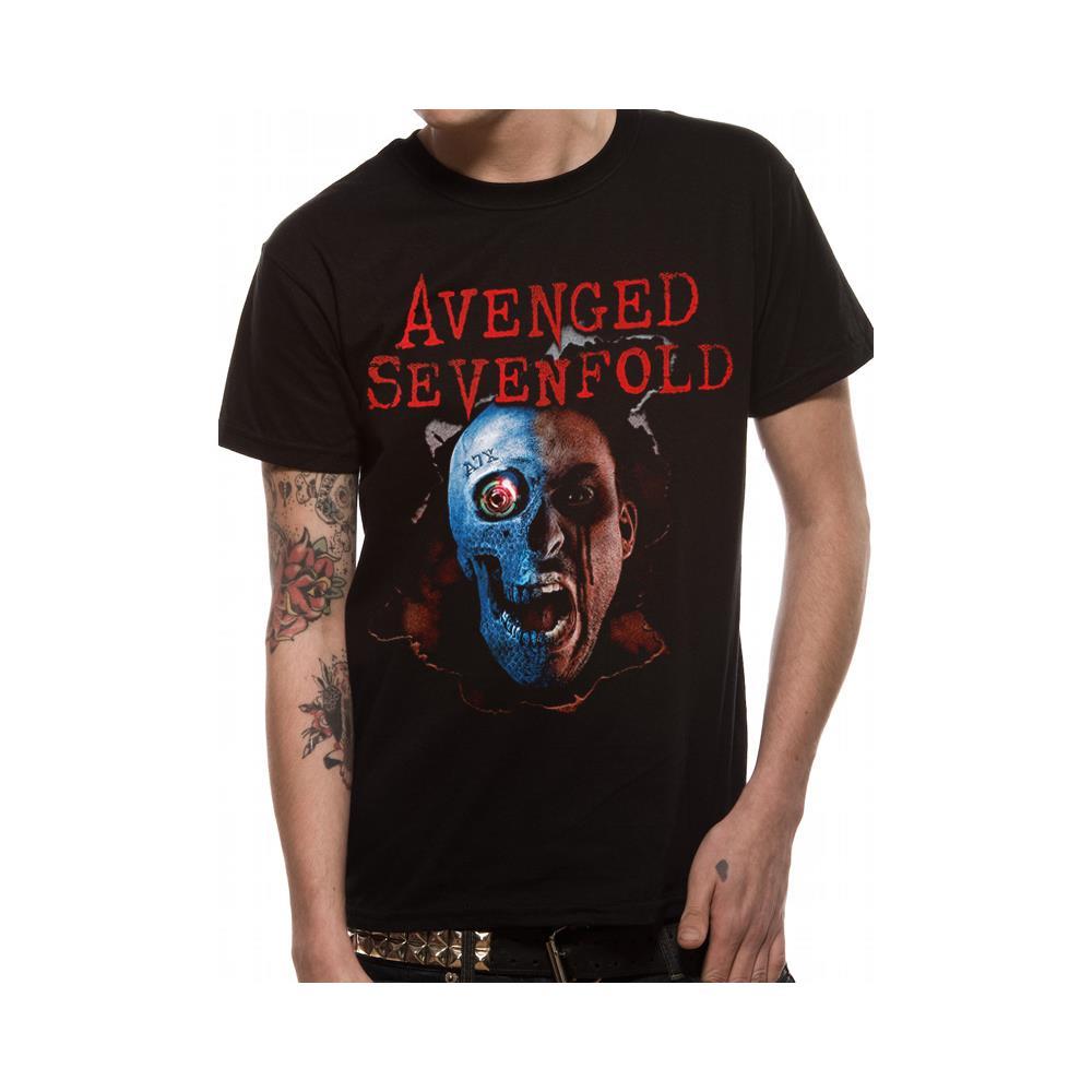Avenged Sevenfold - Robot Head (T-Shirt Unisex Tg. L)