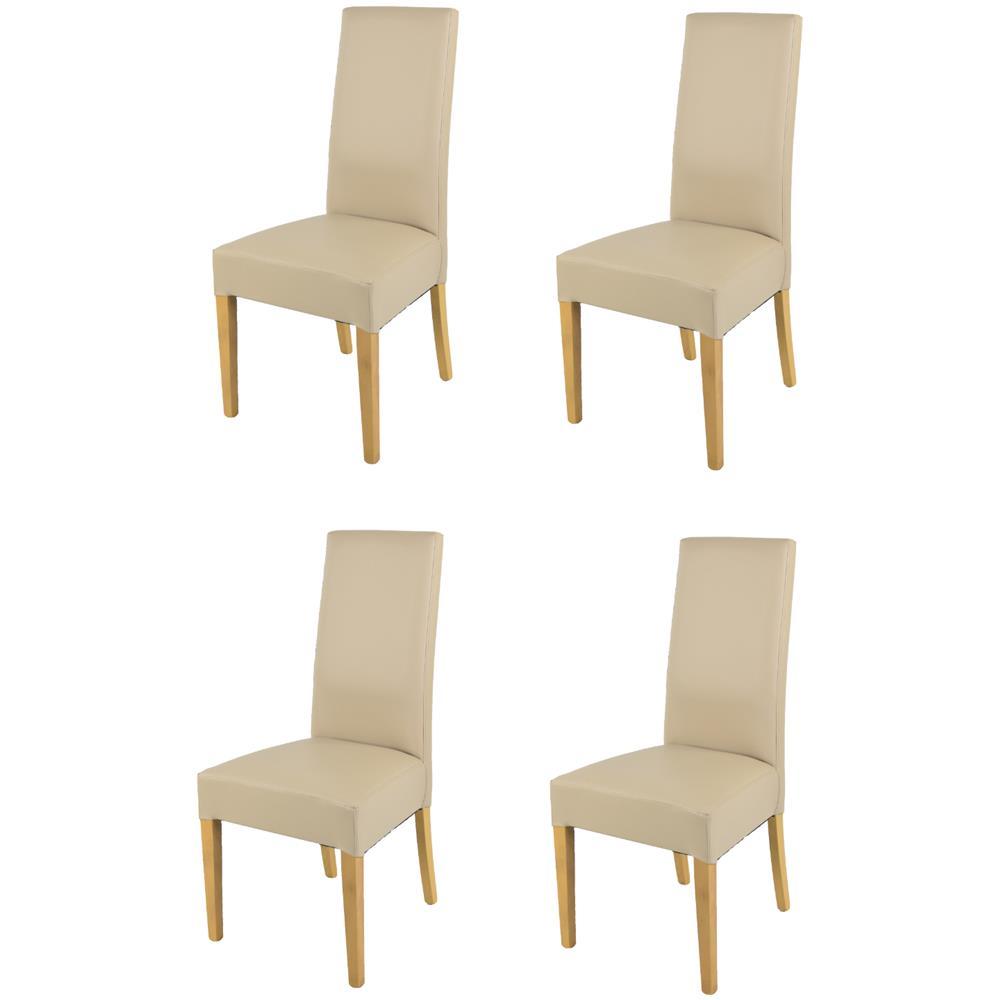 Sedie In Rovere Per Cucina.Tommychairs Set 4 Sedie Luisa Per Cucina Sala Da Pranzo Eleganti E Moderne Struttura In Legno Di Faggio Verniciato Color Rovere Seduta E
