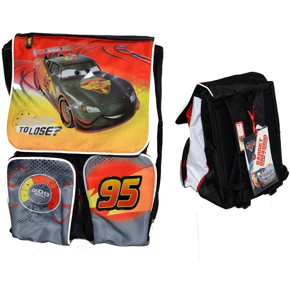 3722820f73 Disney - Cars Zaino Estensibile con gadgets - ePRICE