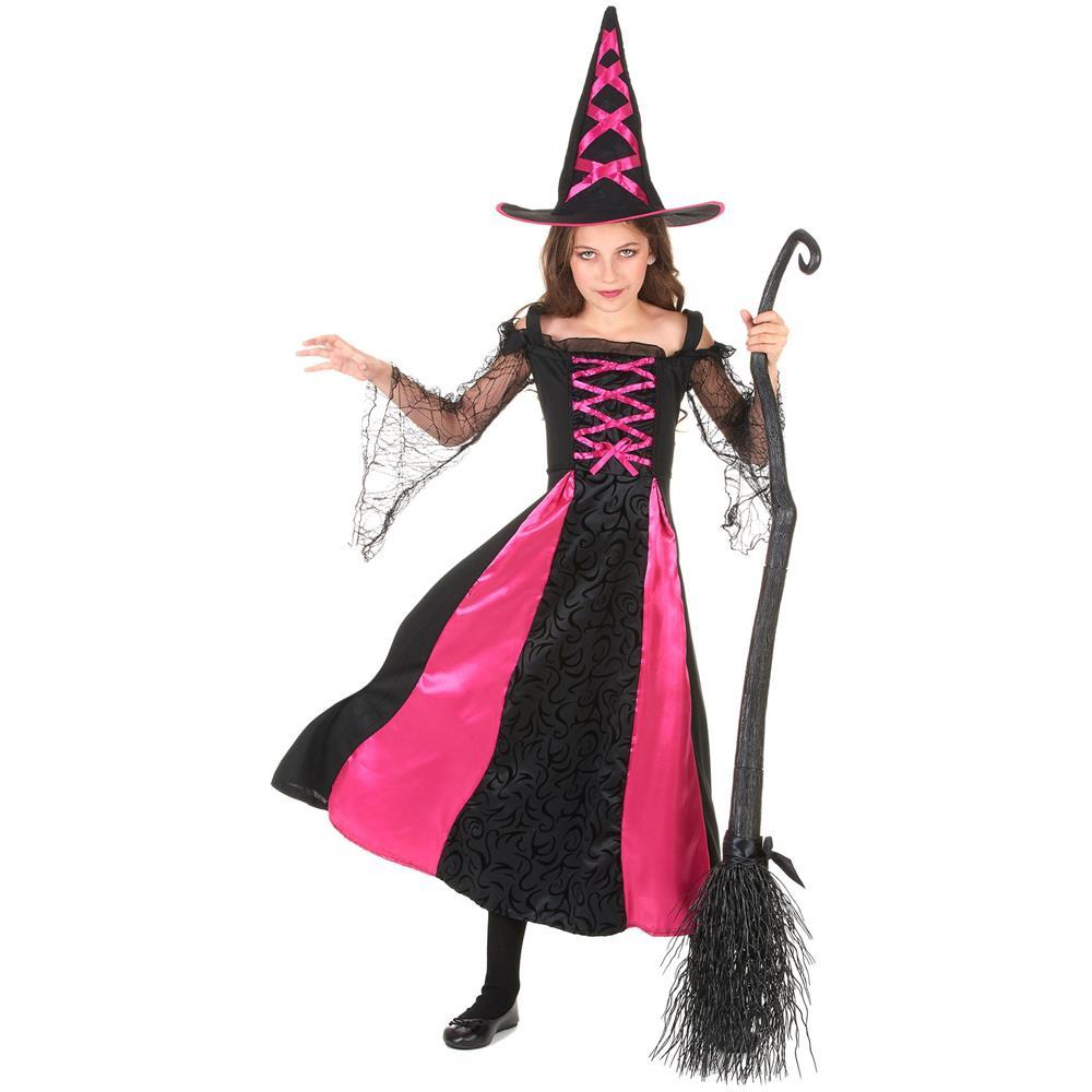 JADEO - Costume Da Strega Per Ragazza 10 A 12 Anni (l) - ePRICE e89ab5ce6a8b