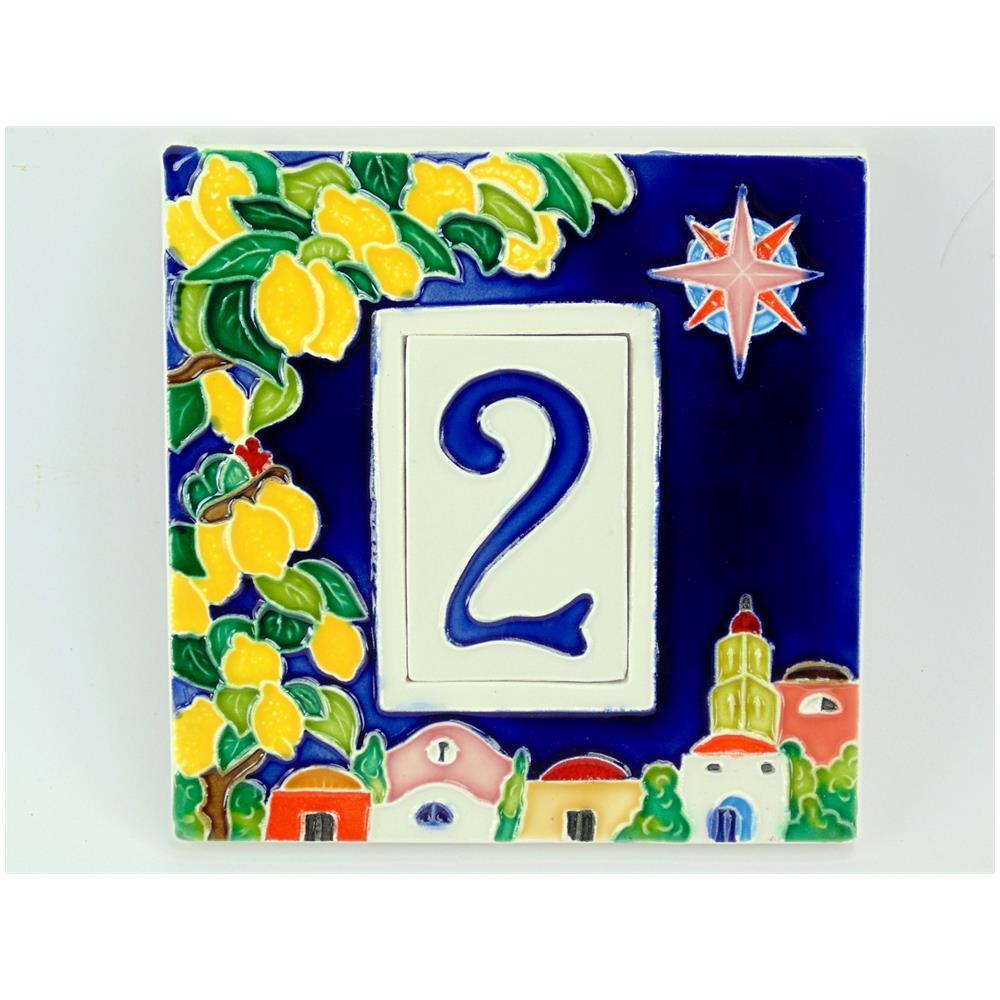Numeri Civici In Ceramica.Fd Bolletta Nc1 Numeri Civici Cornice In Ceramica A 1