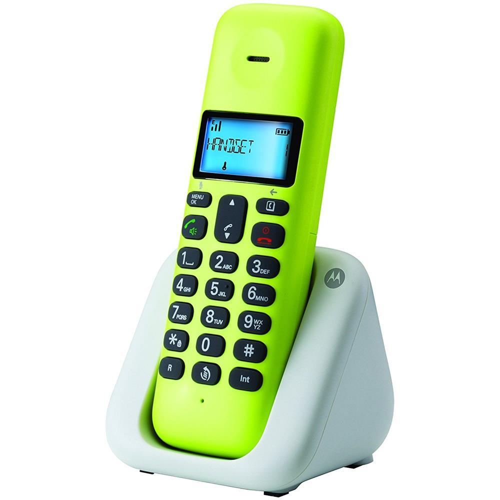 Blu Motorola T301Plus Telefono Cordless