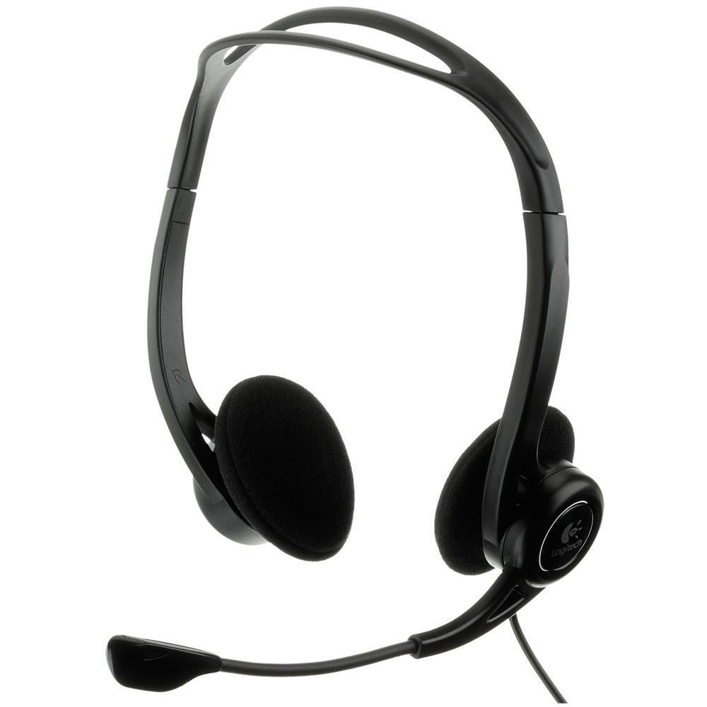 Logitech PC 960 USB Stereofonico Nero cuffia e auricolare fa2ae3b12599