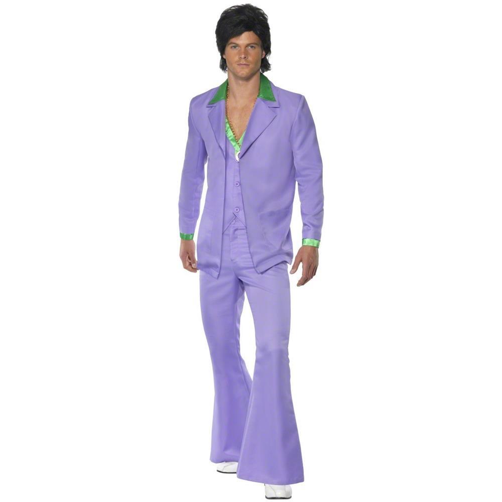 design raffinato super popolare miglior valore JADEO Costume Stile Disco Anni 70 Uomo Medium