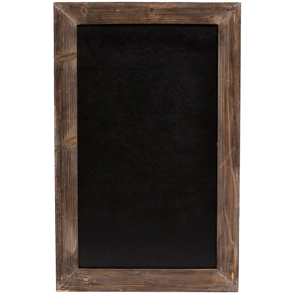Lavagna Da Parete Cucina biscottini lavagna da parete verticale / orizzontale con cornice in legno  finitura legno anticato 50x3x80 cm