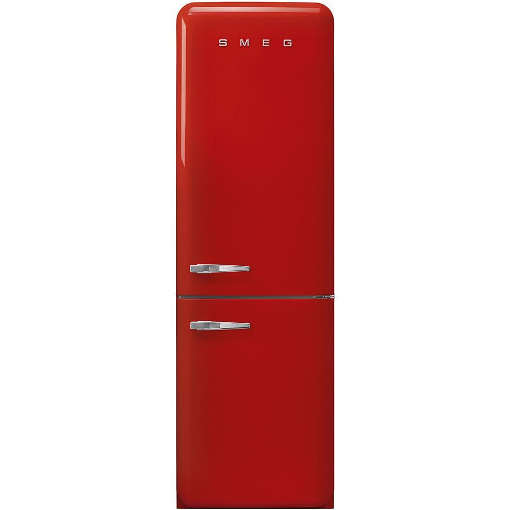 SMEG Frigorifero Combinato FAB32RRD3 Anni \'50 Total No Frost Classe A+++  Capacità Lorda / Netta 365/331 Litri Colore Rosso