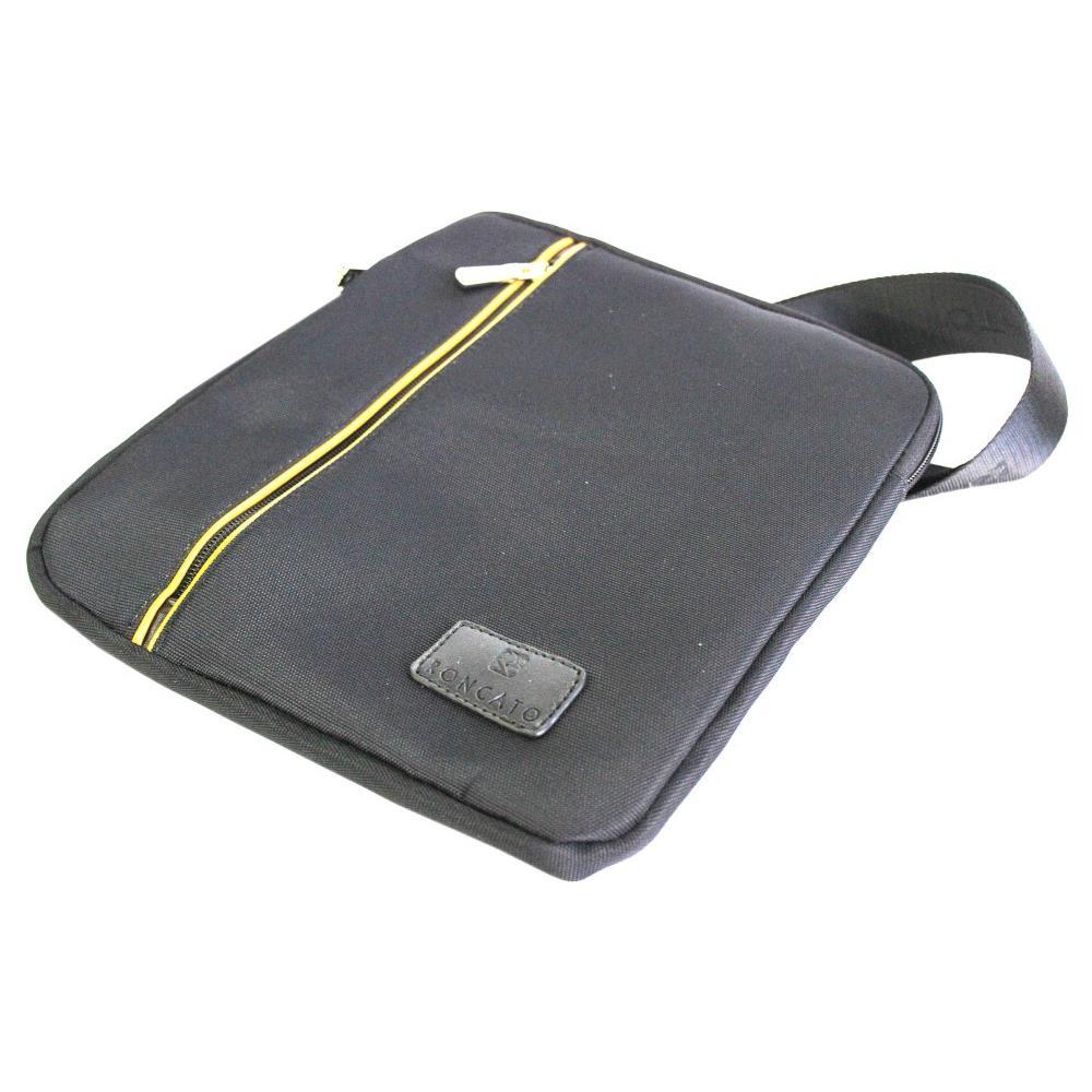 253fdb8c5b1d3 Roncato - Borsello Uomo Tracolla Piatta Porta Tablet 46.59.02 Nero ...