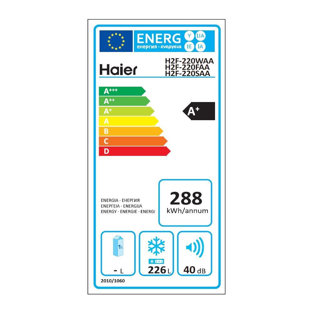 Differenza Classe A+ E A++ haier congelatore verticale h2f220waa no frost classe a+ capacità lorda 253  litri colore bianco