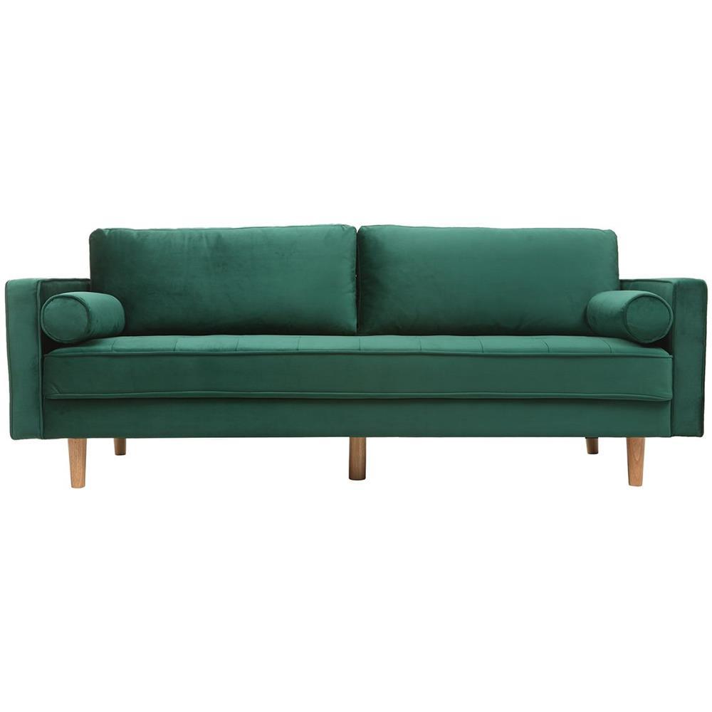 Europa Divani Design Srl.Miliboo Divano Design A 3 4 Posti In Velluto Midnight Verde