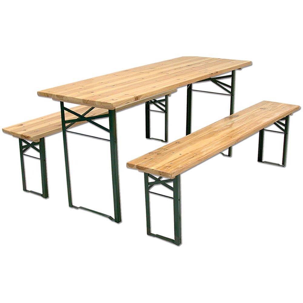 Tavoli E Panche Birreria Usati.Biacchi Set Birreria In Legno 2 20 Metri Eprice