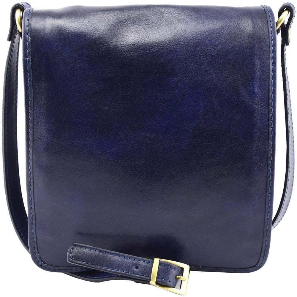 scarpe sportive 10719 7bf5f Dream Leather Bags - Borsa A Tracolla Uomo In Vera Pelle Colore ...