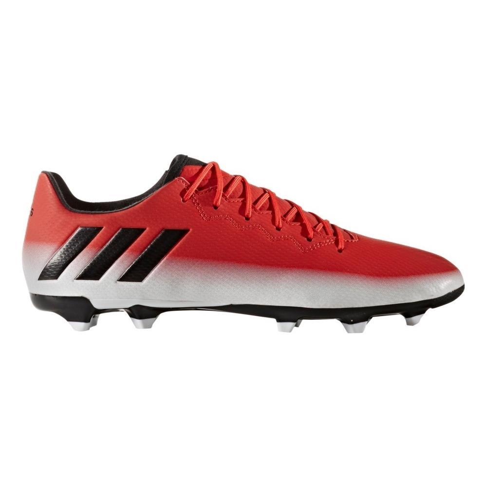 Adidas Scarpe Calcio Messi 16.3 Fg 42,6 Bianco Rosso