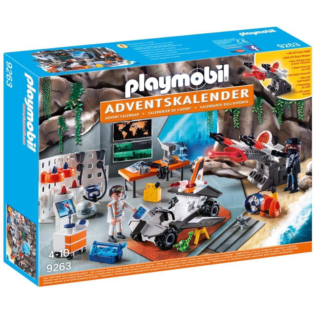 Calendario Avvento Playmobil.Playmobil 9263 Top Agents Calendario Dell Avvento Eprice