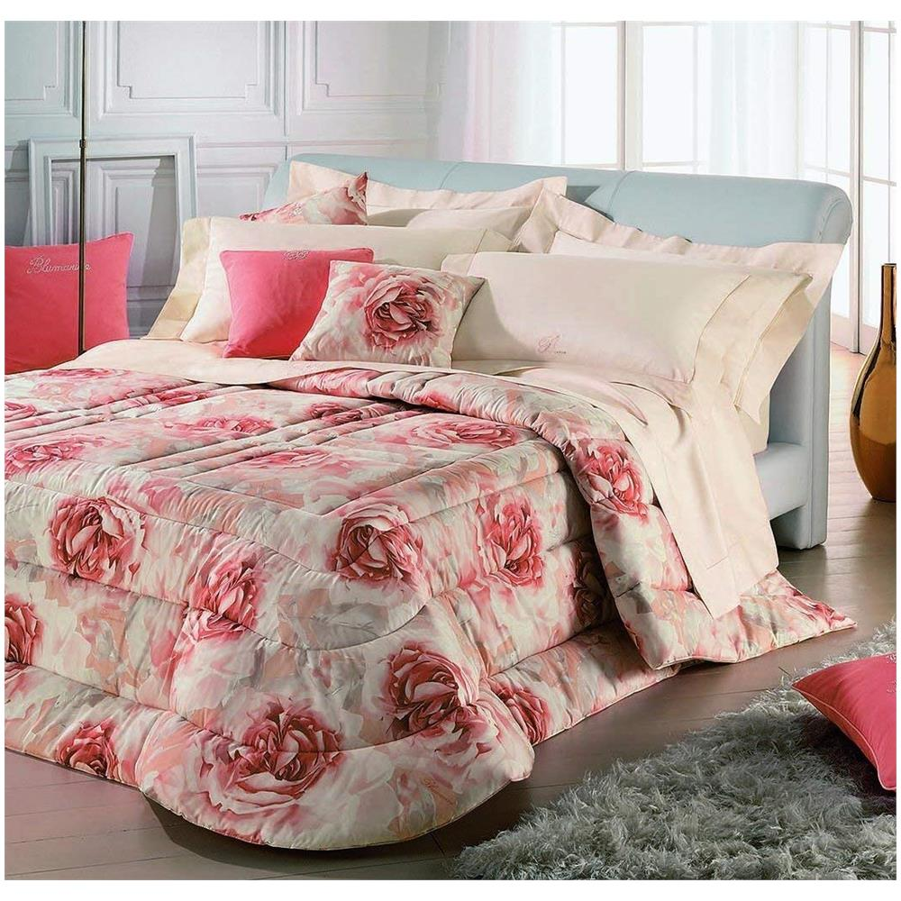 innovative design b4f25 6aad9 BLUMARINE Pregevole Ed Elegante Trapunta Rosita Letto Matrimoniale In  Cotone Jacquard