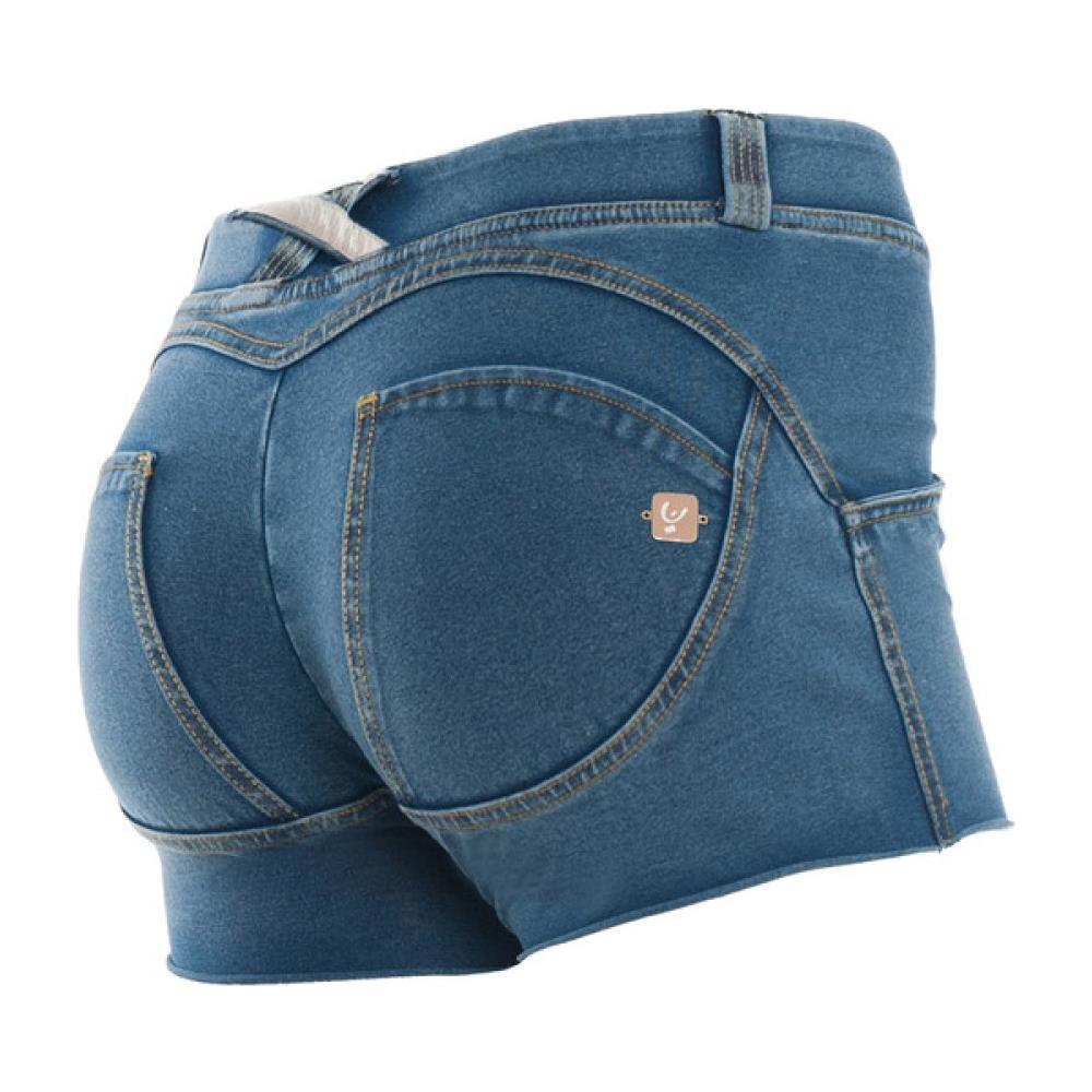 Donna Freddy Denim Short Blu Wr L ePRICE Pantaloncino up rqWnHBAr5
