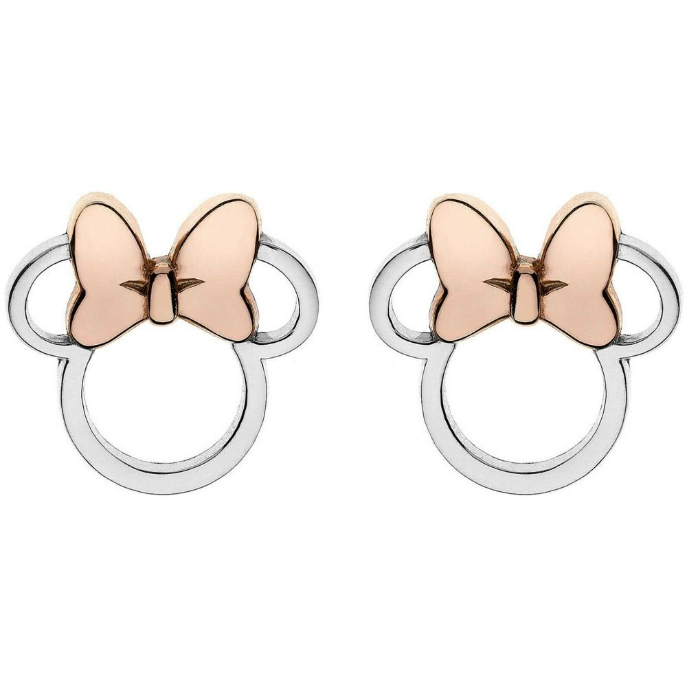 WALT DISNEY Disney Orecchini In Argento Bambina Mickey Mouse Minnie  E901880tl