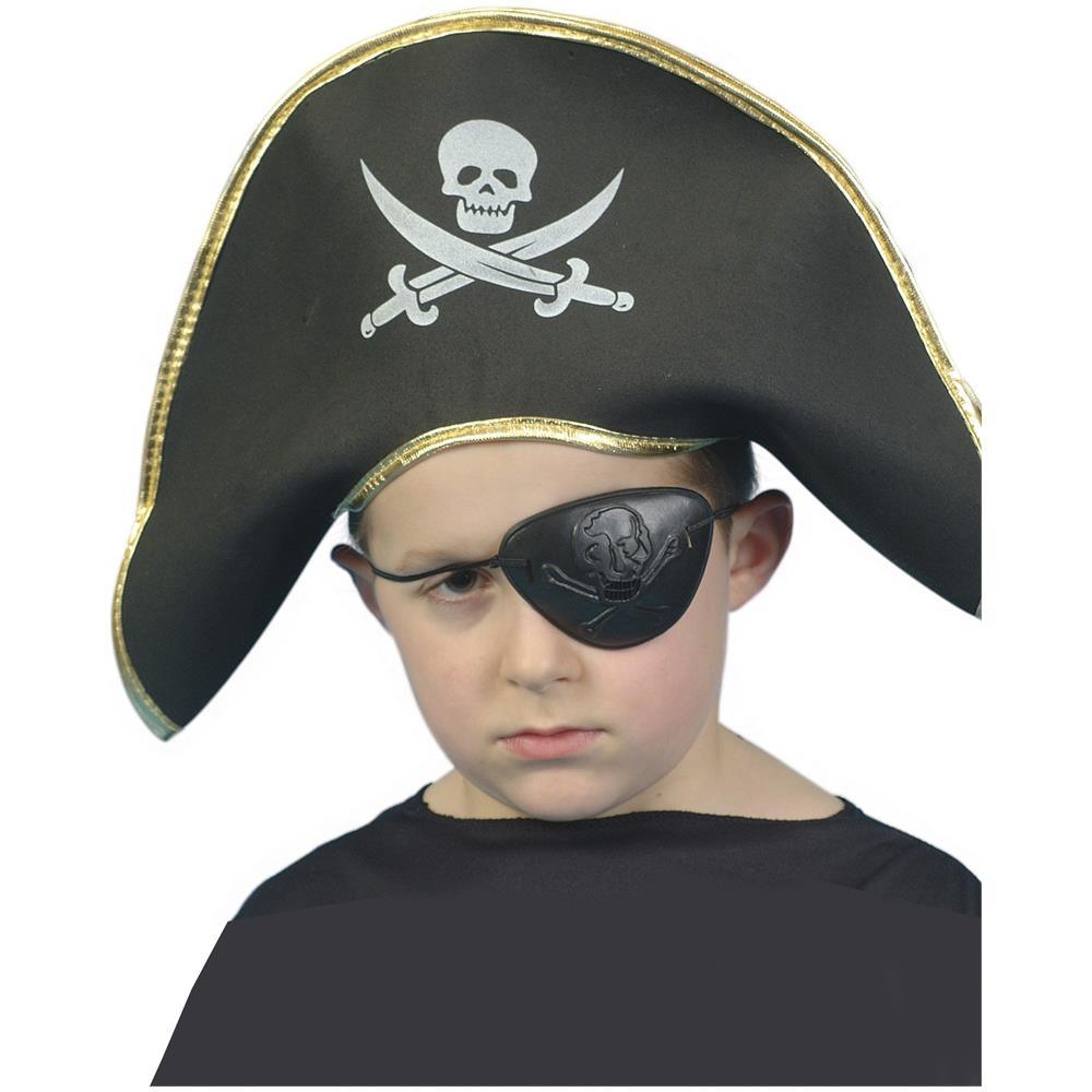 design unico allacciarsi dentro sempre popolare JADEO - Cappello Da Pirata Per Bambini Taglia Unica - ePRICE