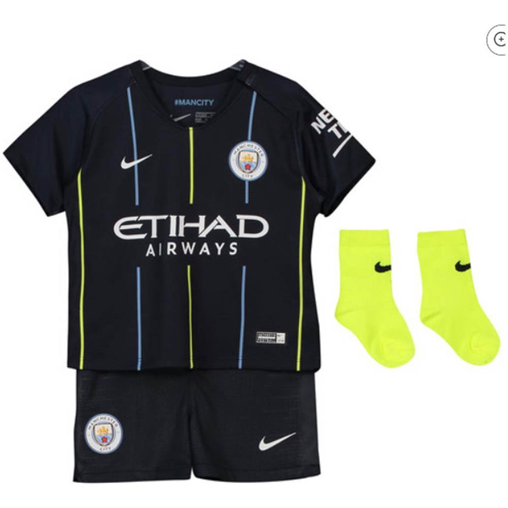8e1c8bca36e733 NIKE - 2018-2019 Man City Away Nike Baby Kit - 12/18 Mesi - ePRICE