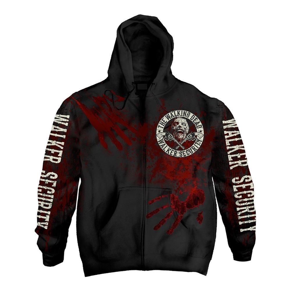 Walking Dead (The) - Walker Security Zip (Felpa Con Cappuccio Unisex Tg. L)