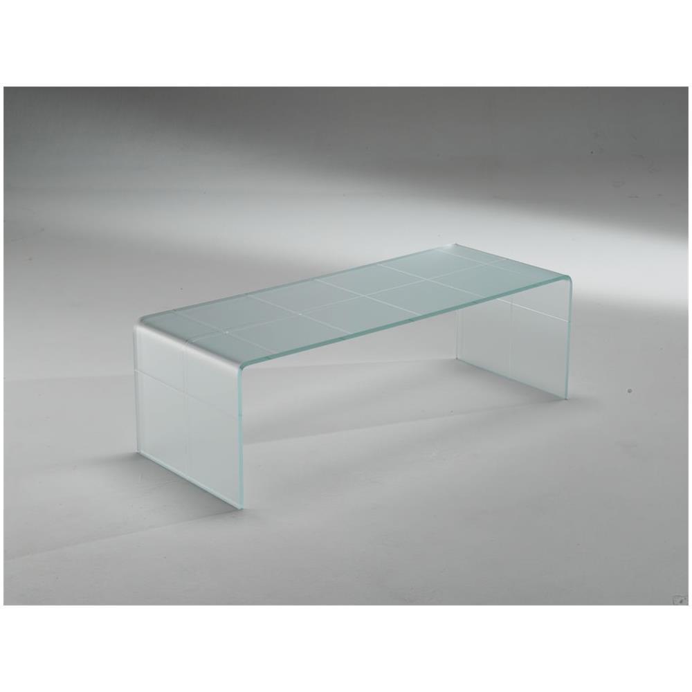 Tavolino Basso Cristallo.Qriosa Stile Italiano Mod Scacco Matto Bianco Tavolino Basso In Vetro Curvo
