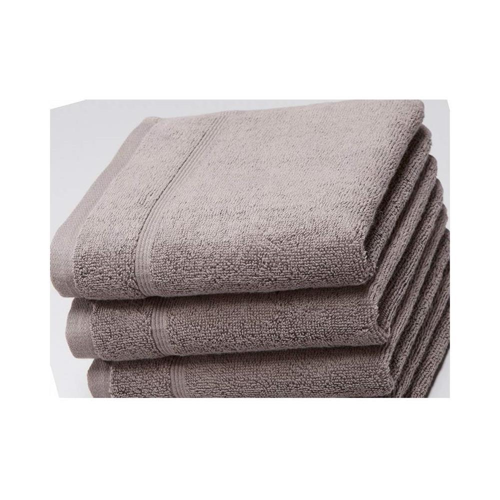 Composizione Del Colore Tortora gabel tre asciugamani ospiti 40x60 tintunita & company colore tortora greige