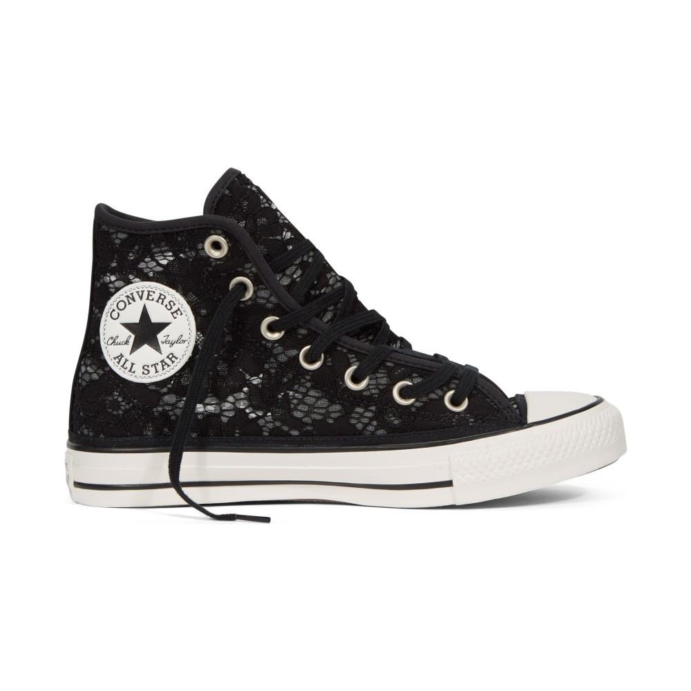 converse all star donna nero