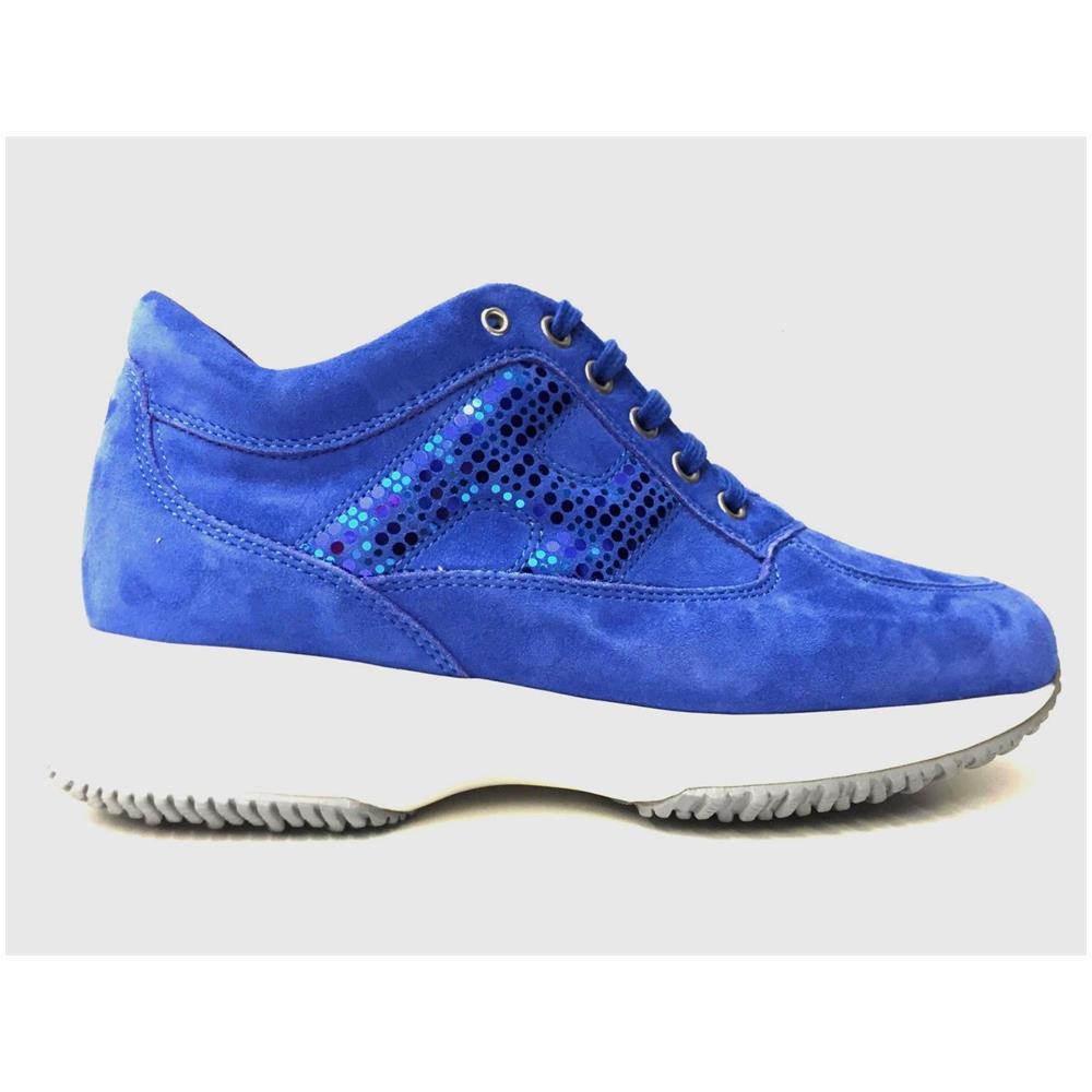 HOGAN Scarpe Sneakers Donna Hogan Originale Hxw00n0x290cro U615 Pelle Pe New Taglia 36 1/2 Colore Blu