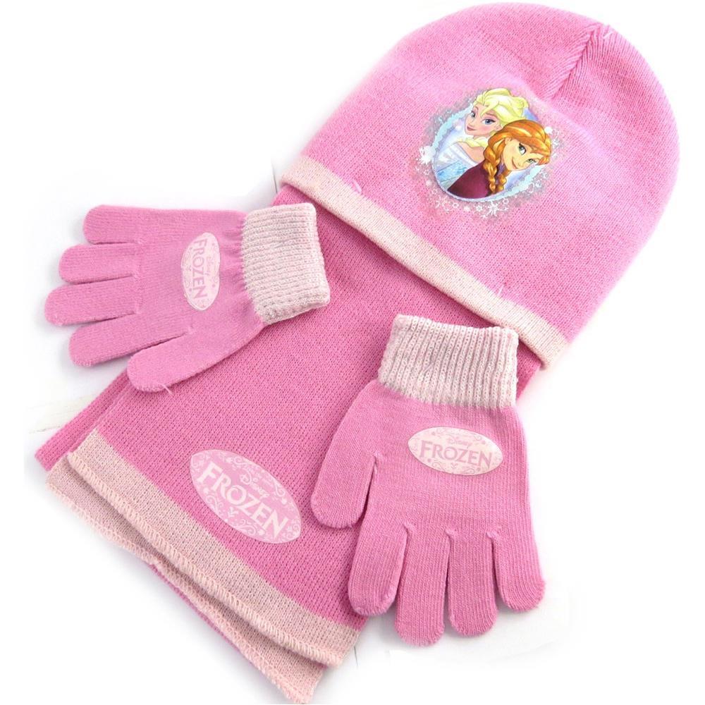 stati Uniti acquista per il meglio designer nuovo e usato Reine des Neiges - bambino insieme 'frozen - ' rosa (guanti ...