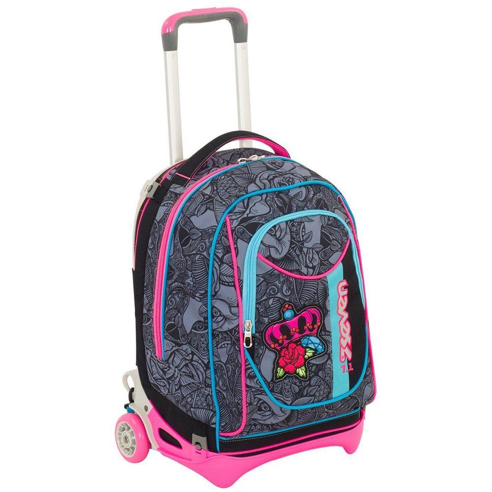 847b6037bb SEVEN - Trolley Zaino Scuola-roses Girl-sganciabile Lavabile -femminile -  ePRICE