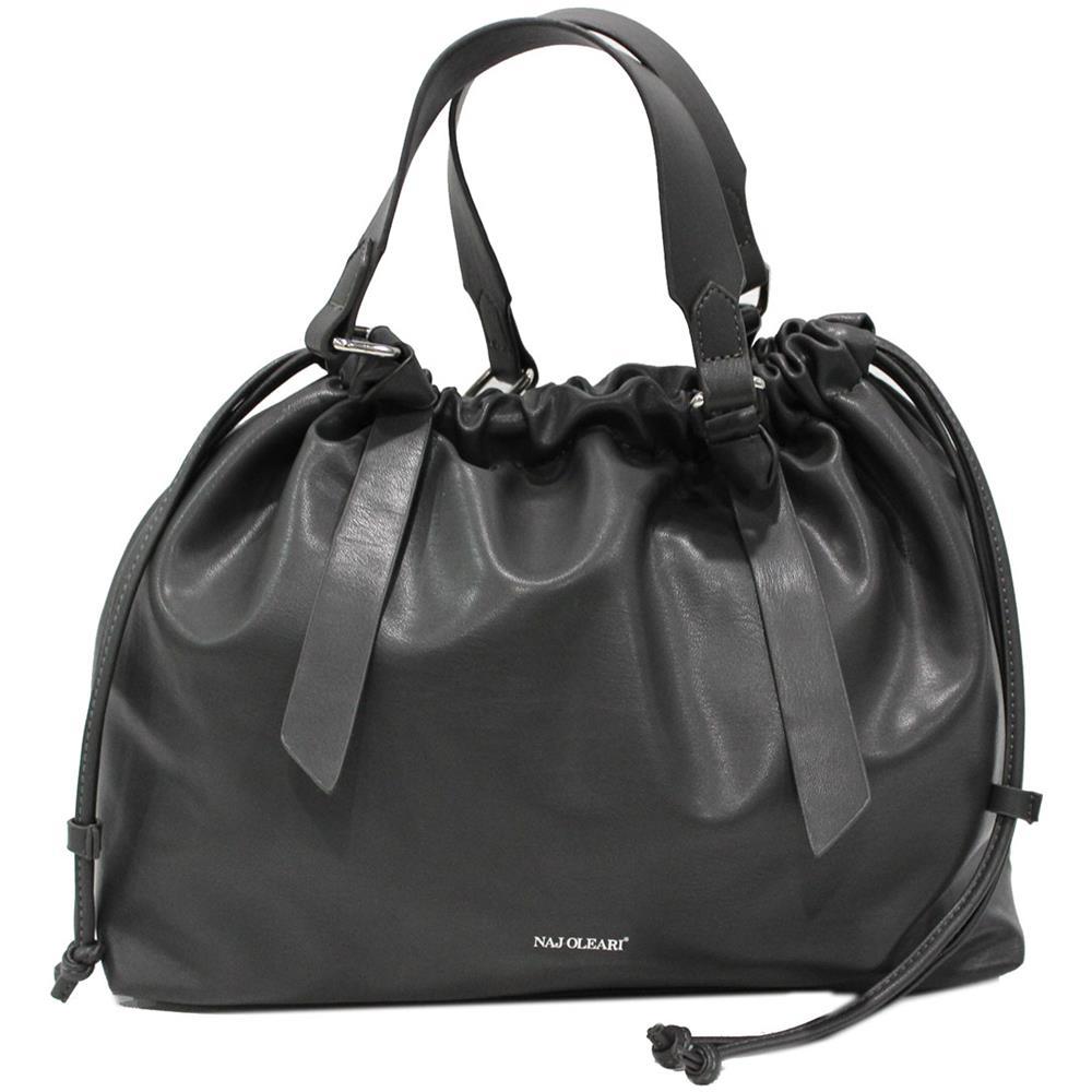 56ae221076 NAJ OLEARI - Borsa Donna Similpelle Modello Shopping A Mano Linea Lilli  61506 Grey - ePRICE