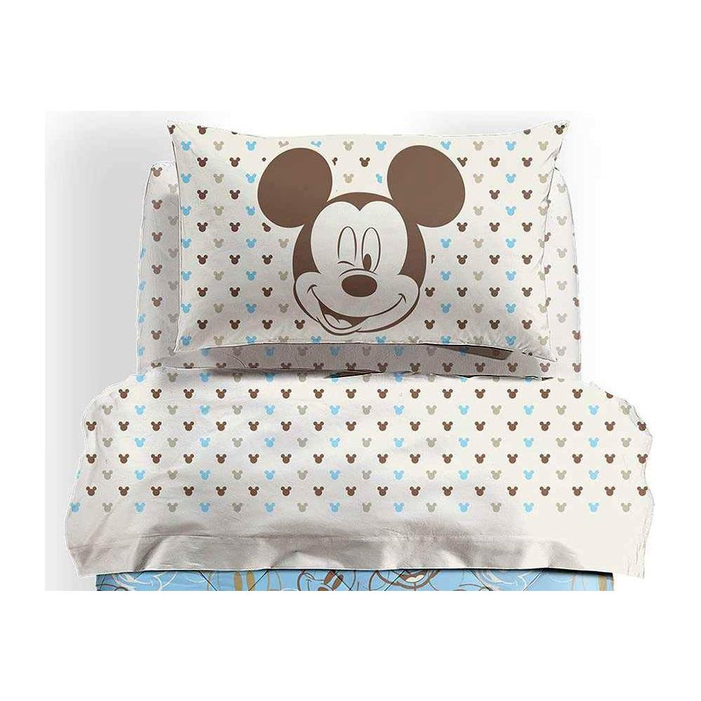 Lenzuola Matrimoniali Mickey Mouse.Caleffi Completo Lenzuola Letto Singolo 1 Piazza Disney Mickey