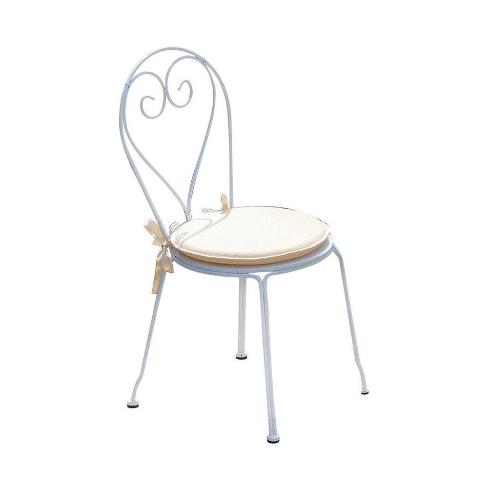 Sedie Da Esterno Design.Moia Set Quattro Sedie Per Esterni Design Shabby Chic Eprice