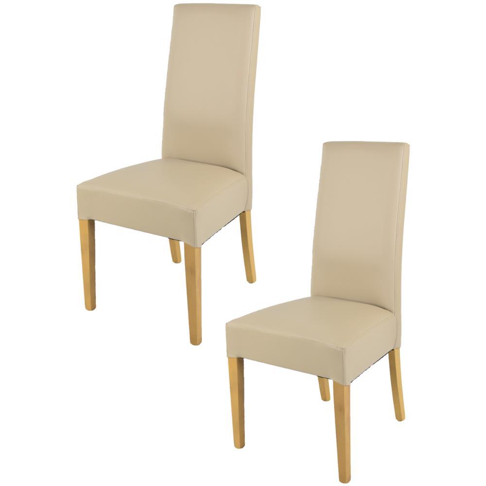 Sedie In Rovere Per Cucina.Tommychairs Set 2 Sedie Luisa Per Cucina Sala Da Pranzo Eleganti E Moderne Struttura In Legno Di Faggio Verniciato Color Rovere Seduta E