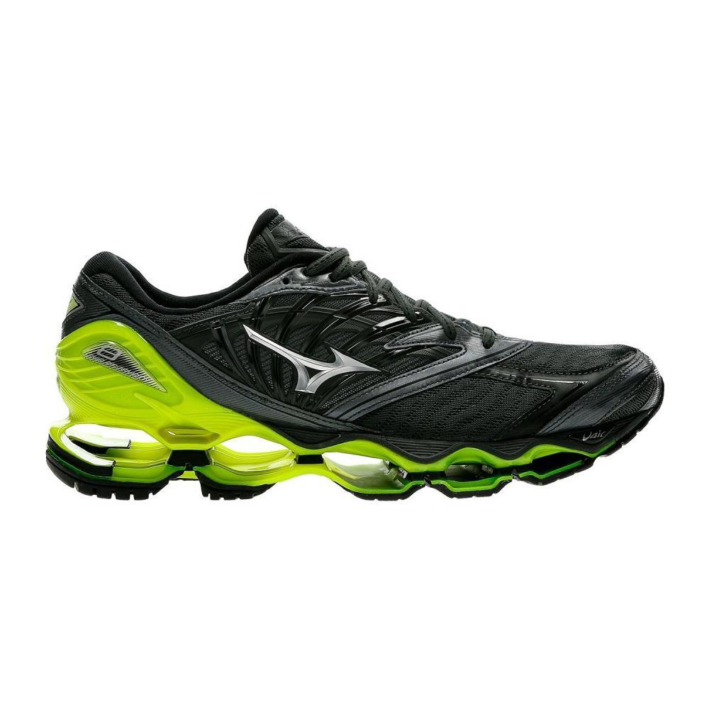 buy popular fe3e5 d8299 MIZUNO Scarpe Uomo Running Wave Prophecy 8 A3 Neutra Taglia 43 - Colore:  Grigio / giallo