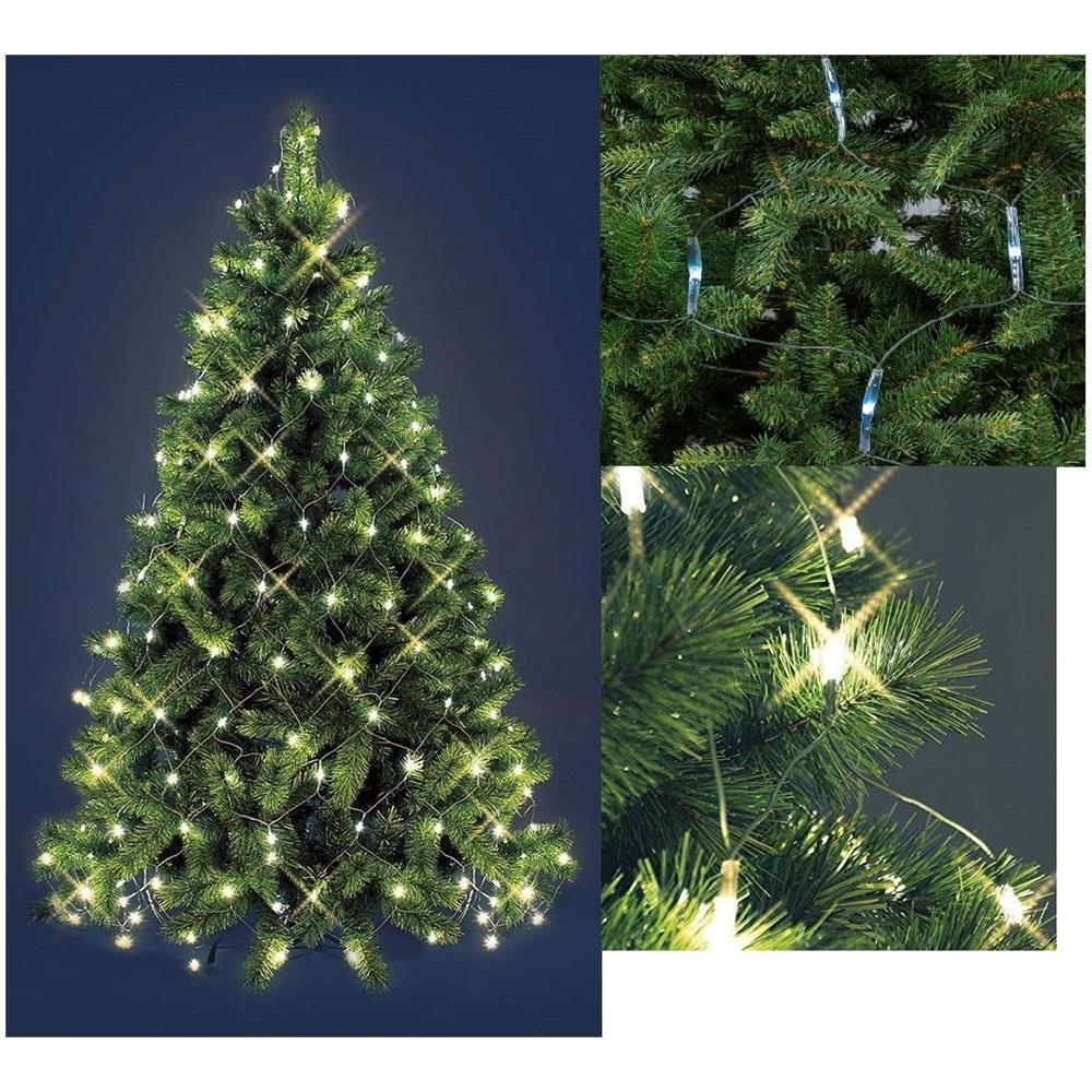 Albero Di Natale 3 Metri.Shopping In Rete Mantello Rete Luci Albero Di Natale 192 Led Bianco Caldo 1 8mt Eprice