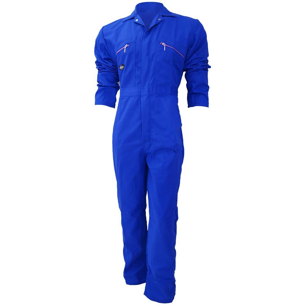 Zip blu Dickies Lavoro Uomo Da 147cm Tuta girovita Frontale twFqPzwx