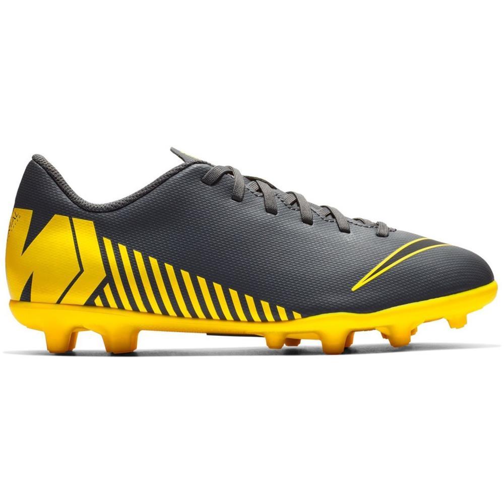 NIKE Scarpe Calcio Bambino Nike Mercurial Vapor Club Mg Game Over Pack Taglia 33,5 Colore: Grigio giallo